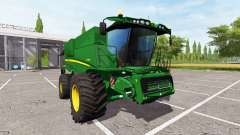 John Deere S690i washable