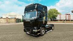 Skin dragon for truck Scania