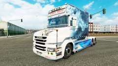 Smoke skin for truck Scania T