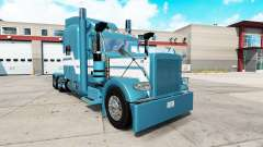 Blue Ice skin for the truck Peterbilt 389