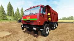 KAMAZ-65115 v3.0 for Farming Simulator 2017
