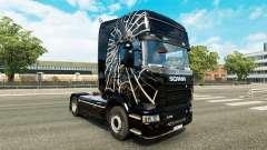 Spider skin for Scania truck for Euro Truck Simulator 2