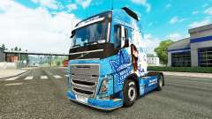 The Toronto Maple Leafs skin for Volvo truck
