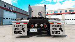 Mudguards I Support Single Moms v2.1