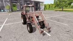 MTZ-82 Belarusian FL for Farming Simulator 2017