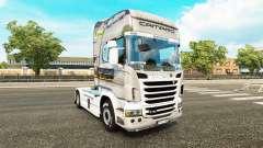 NASCAR skin for Scania truck for Euro Truck Simulator 2