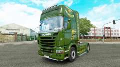 Vabis skin for Scania truck