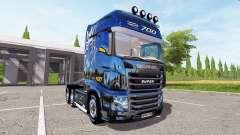 Scania R700 Evo gold for Farming Simulator 2017