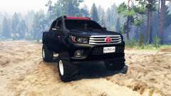 Toyota Hilux Double Cab 2016 for Spin Tires