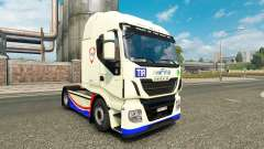 Skin FINA on the truck Iveco Hi-Way