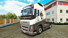 Cool Lion skin for Volvo truck