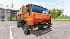 KAMAZ-43255 v2.0 for Farming Simulator 2017