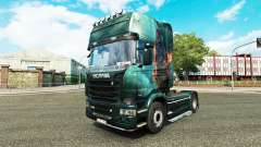 Skin Fantasy Ship on the tractor Scania for Euro Truck Simulator 2