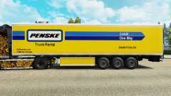 Penske skin for the refrigerated trailer