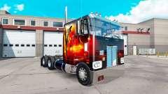 Dragon Fire skin for the truck Peterbilt 352