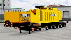 Low sweep with transformer Caterpillar