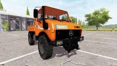 Mercedes-Benz Unimog U1600 for Farming Simulator 2017
