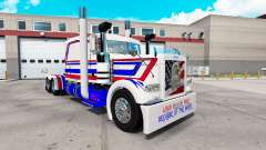 America skin for the truck Peterbilt 389