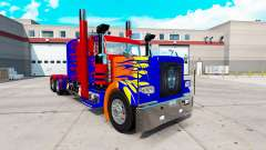 Optimas Prime skin for the truck Peterbilt 389
