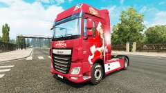 Christmas skin for DAF truck