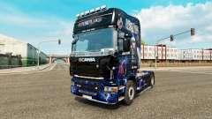 Skin AC-DC-for truck Scania for Euro Truck Simulator 2