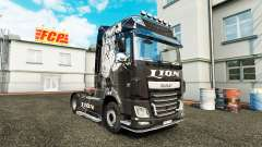 Lion skin for DAF truck