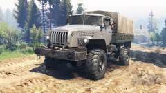 Ural-43206 v2.0 for Spin Tires