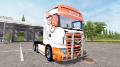 Scania R700 Evo tnt for Farming Simulator 2017