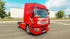 Amelung skin for Renault Premium truck
