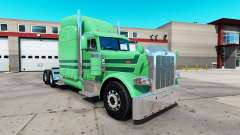 Skin A. J. Lopez for the truck Peterbilt 389