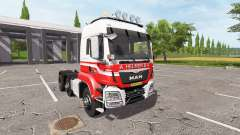 MAN TGS 18.440 A. Helmer B.V. hauler v2.2 for Farming Simulator 2017
