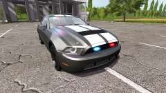 Ford Mustang GT Road Rage Police for Farming Simulator 2017