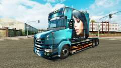 Beautiful Girl skin for truck Scania T
