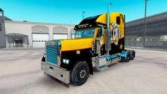 Скин Caterpillar на Freightliner Classic XL