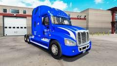 Skin Walmart on tractor Freightliner Cascadia