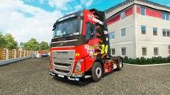 Skin NASCAR for truck tractor Volvo