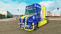 Michelin skin for truck Scania T