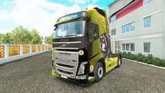 Boston Bruins skin for Volvo truck