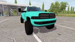 Dodge Ram 3500 cummins for Farming Simulator 2017
