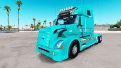 Skin TUM on the Volvo trucks VNL 670 for American Truck Simulator