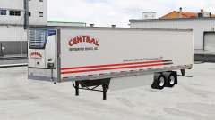 Skin Central v1.5 on refrigerated semi-trailer