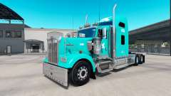 Skin TUM on the truck Kenworth W900