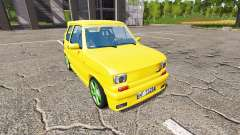 Fiat 126p tuning for Farming Simulator 2017