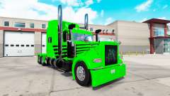 Skin Green Envy Express for the truck Peterbilt