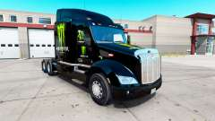 Monster Energy skin for the truck Peterbilt 579