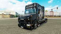 Silver Dragon skin for Scania T truck