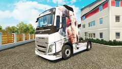 Skin Artistic Girl at Volvo trucks