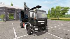 MAN TGS 18.480 wood crusher v1.3 for Farming Simulator 2017
