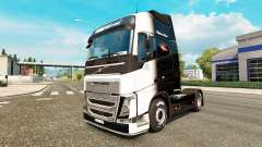 The Black and White skin for Volvo truck