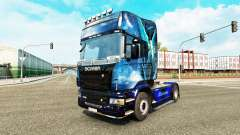 Blue Angel skin for Scania truck